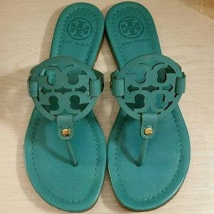 •RARE• Miller Sandals in Island Turquoise Blue